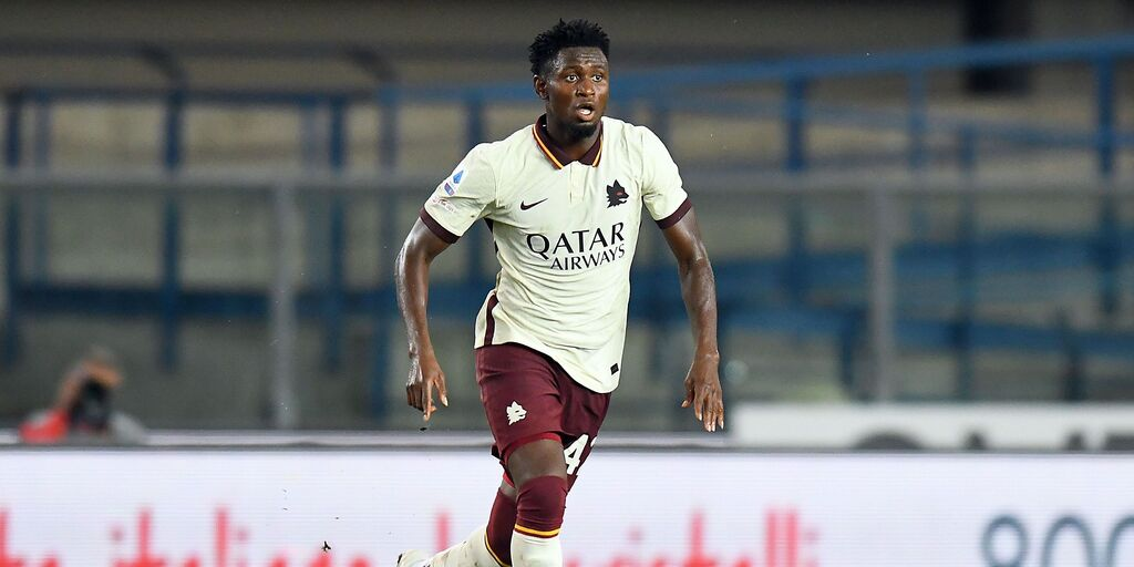 Diawara durante il match Verona-Roma  (Getty Images)