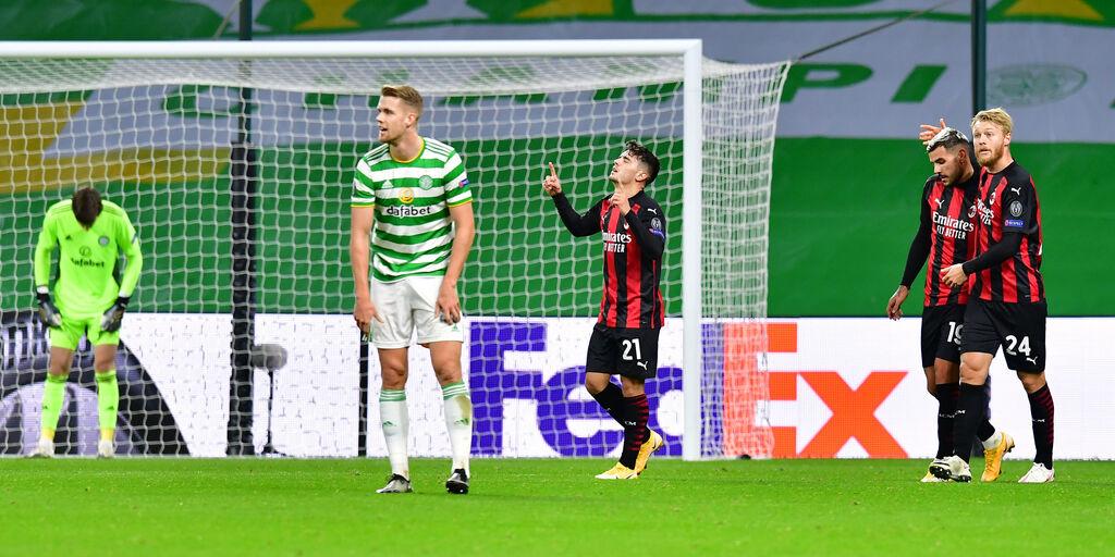 VIDEO - Celtic-Milan 1-3: gol e highlights del successo in Scozia (Getty Images)