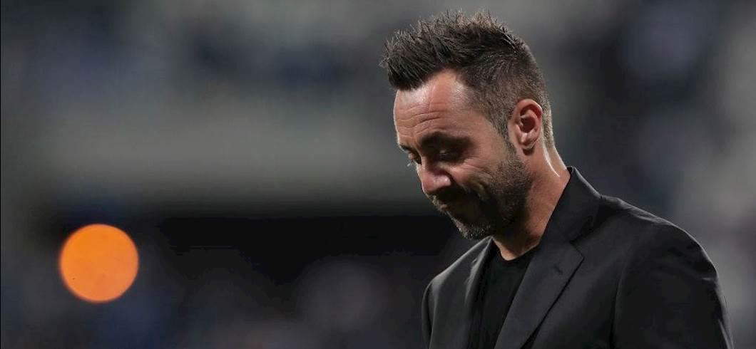 """Inter-Sassuolo, la rabbia di De Zerbi: """"Irrati è un arbitro che non mi piace"""" (Getty Images)"""