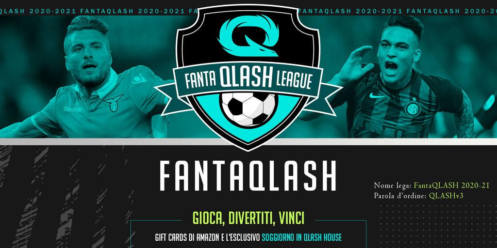 Via a FantaQLASH, il Fantacalcio ufficiale del team E-Sports Qlash!