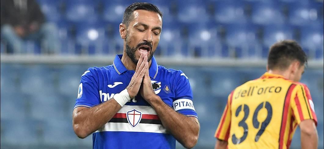Udinese-Sampdoria, le formazioni ufficiali: la scelta su Quagliarella (Getty Images)