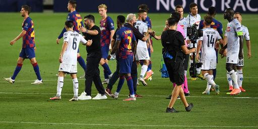 """Barcellona-Napoli, Gattuso: """"Il rimpianto è tanto, potevamo vincere"""" (Getty Images)"""
