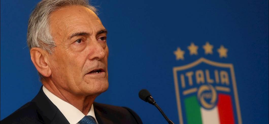 """Gravina: """"Serie A, perdite da 600 milioni in due anni. Ecco come ripartire"""" (Getty Images)"""