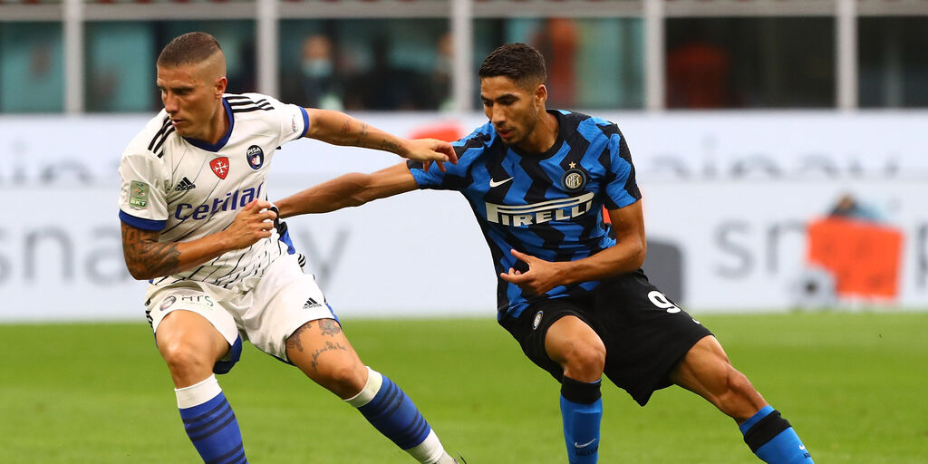 Hakimi in maglia Inter (Getty Images)