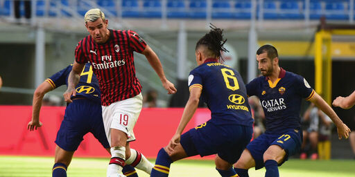 Theo Hernandez, è verde il semaforo dei gol: secondo in Europa tra i giovani terzini, e supera Serginho (Getty Images)