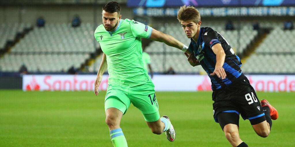Champions, Brugge-Lazio (Getty Images)