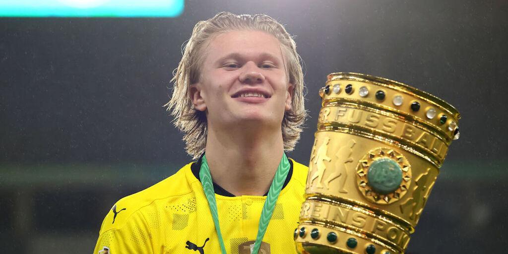 Borussia Dortmund, Haaland in bilico: contatti con una big europea per la cessione (Getty Images)