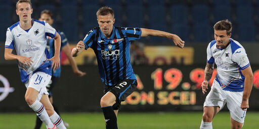 Infortunio Ilicic Atalanta (Getty Images)