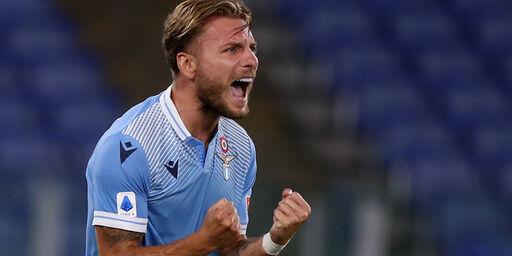 Lazio, Immobile ed il record di gol in Serie A (Getty Images)