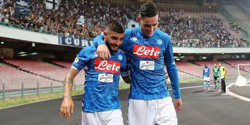 """Napoli, Insigne saluta Callejon: """"Mi mancherà il tuo taglio in area di rigore"""""""