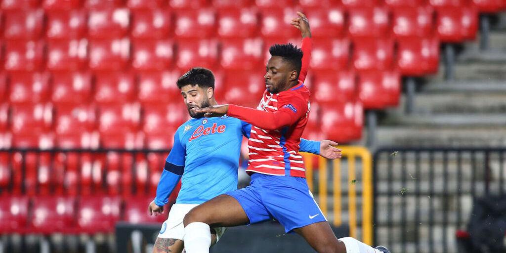 Granada-Napoli 2-0, gol e highlights (Getty Images)