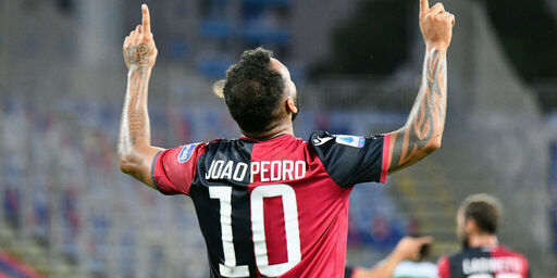 """Cagliari, Joao Pedro: """"Mai pensato di andare via, che bello lavorare con Di Francesco"""" (Getty Images)"""