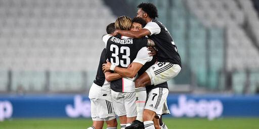 Juventus, missione compiuta! Arriva il 9º scudetto consecutivo (Getty Images)
