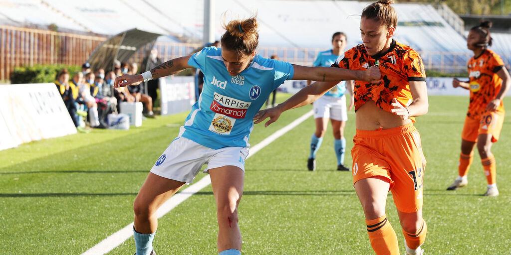 Un duello tra Napoli e Juve femminile (getty)