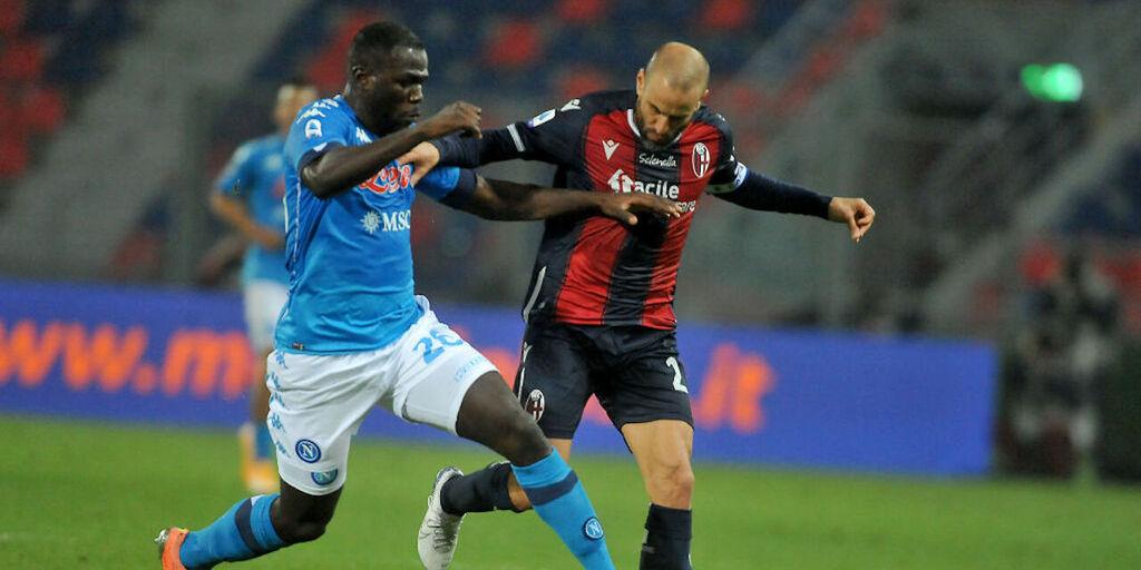 Napoli, pressing del Bayern su Koulibaly (Getty Images)