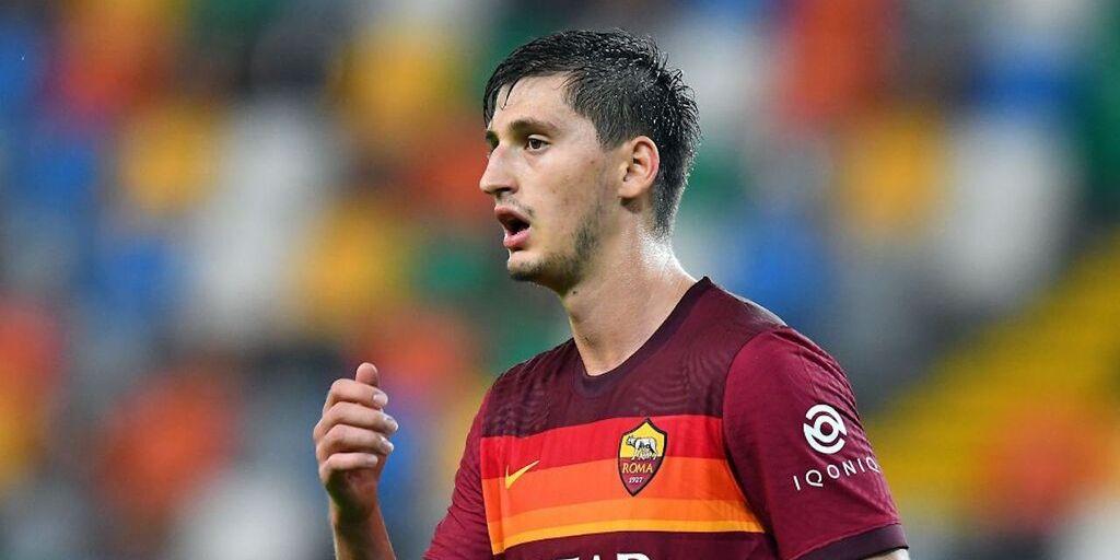 Roma, lesione al menisco destro per Kumbulla (Getty Images)