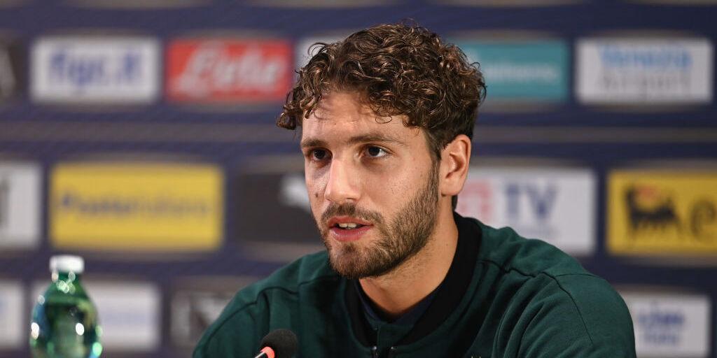 Manuel Locatelli in conferenza da Coverciano (Getty Images)