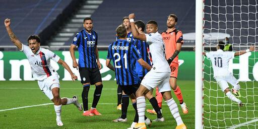 Champions League, Atalanta-Psg 1-2: che beffa per i nerazzurri (Getty Images)