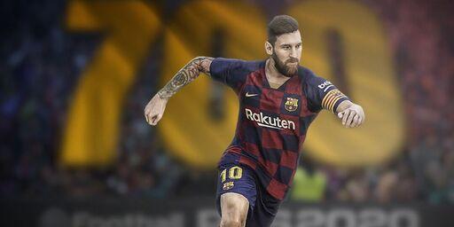 Messi su PES 2020 (https://twitter.com/officialpes)