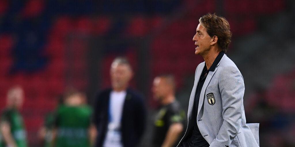 Italia, le parole di Mancini (Getty Images)