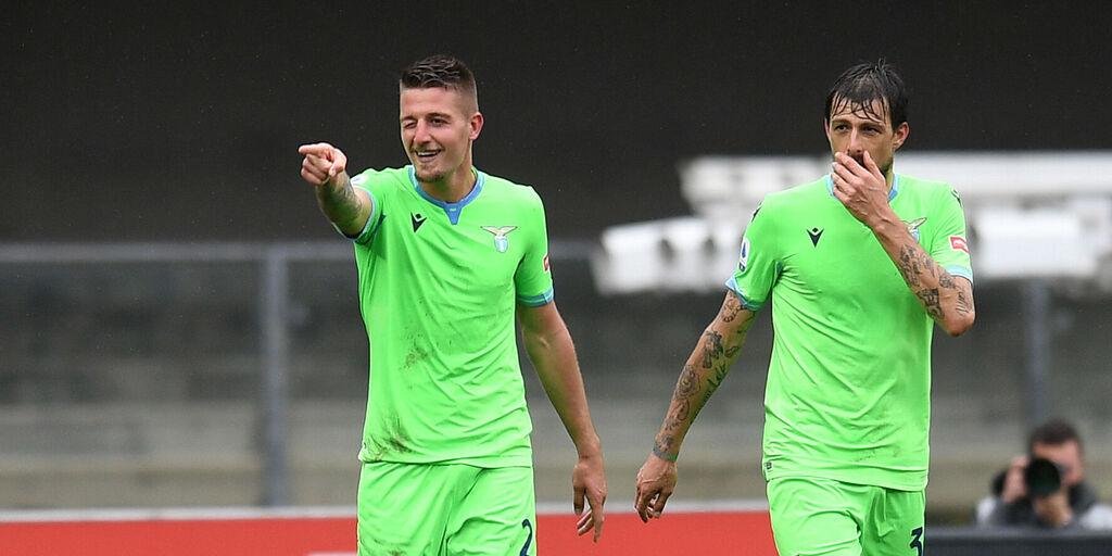 Lazio, a riposo Milinkovic: ci prova Caicedo, rischia Correa (Getty Images)