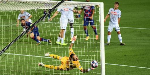 Il secondo gol del Barcellona, la magia di Messi (Getty Images)