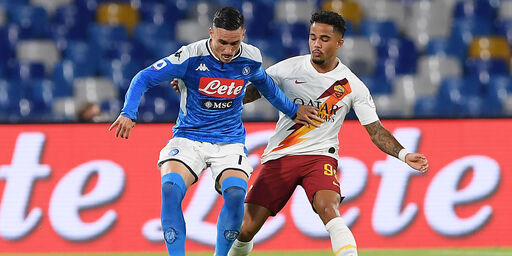 Napoli-Roma (Getty Images)