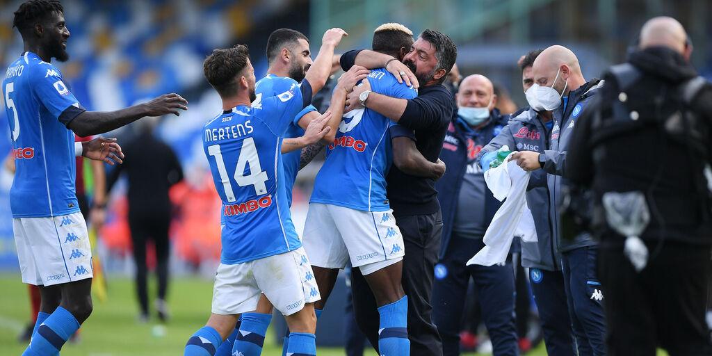 Napoli-AZ: le formazioni ufficiali (Getty Images)