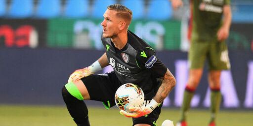 Calciomercato Roma, addio Olsen: ufficiale il passaggio allo Sheffield United (Getty Images)