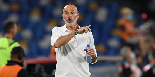 L'allenatore del Milan Stefano Pioli (Getty Images)