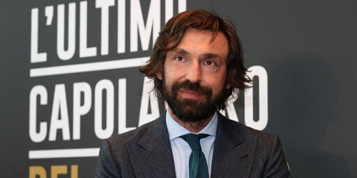Juventus Pirlo in conferenza (Getty Images)