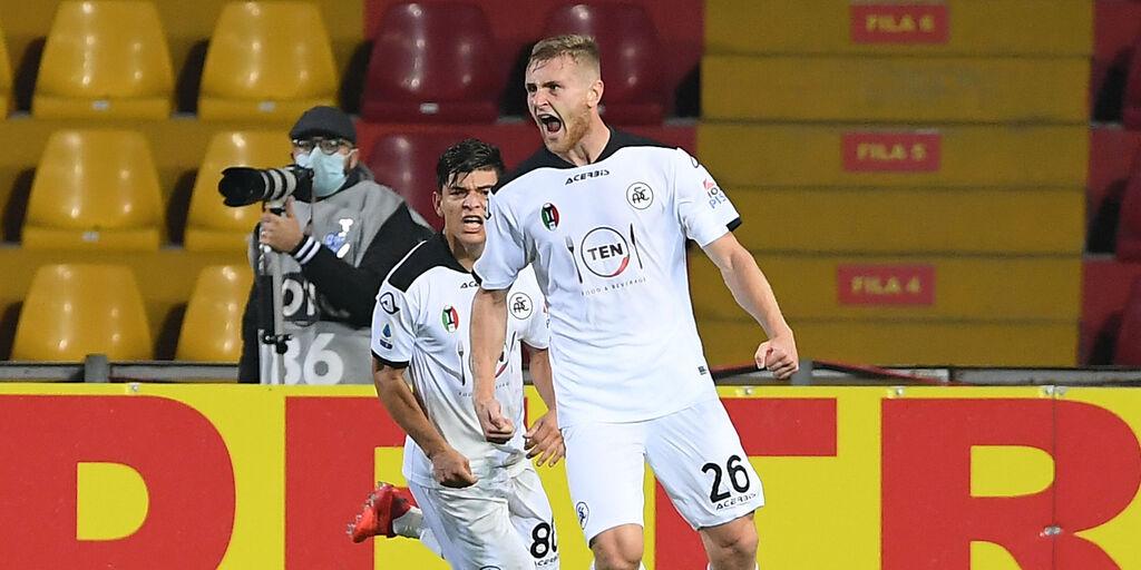 """Spezia, Pobega: """"Gol al Napoli? Magari ho fatto un piacere al Milan"""" (Getty Images)"""