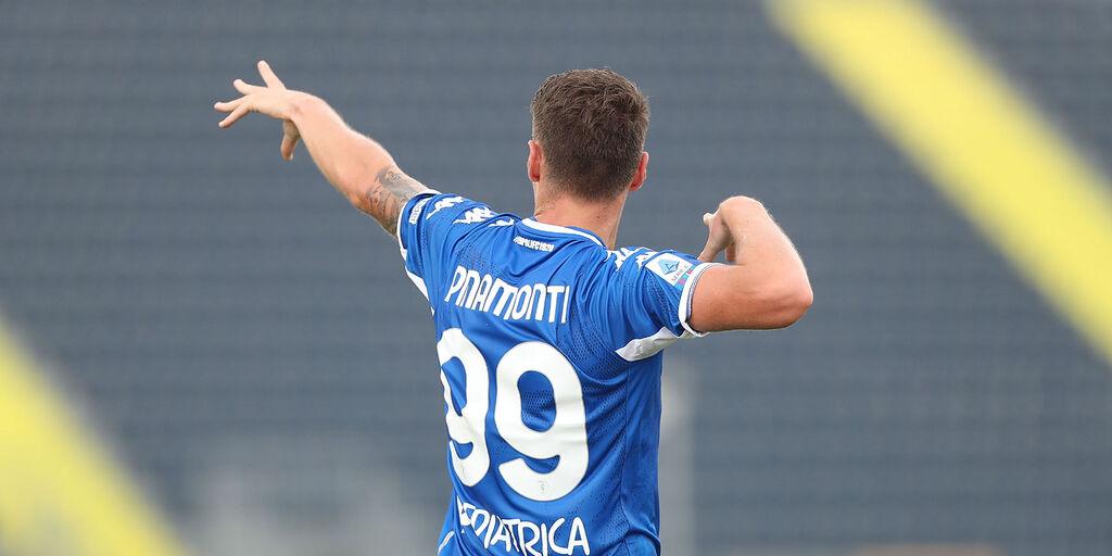 Empoli, Pinamonti nella storia: primo '99 in gol con 4 maglie diverse (Getty Images)