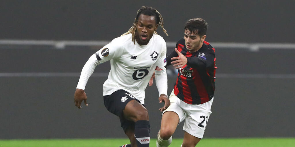 Milan-Lille 0-3, gol e highlights (Getty Images)