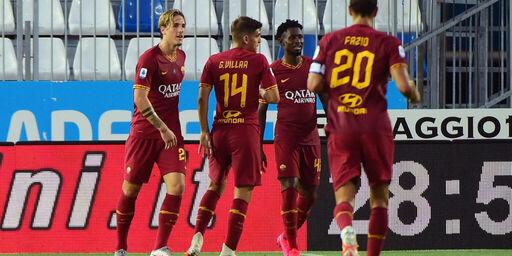 VIDEO - Brescia-Roma 0-3: gol, bonus e highlights (Getty Images)