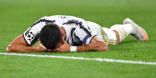 La delusione di Cristiano Ronaldo (Getty Images)
