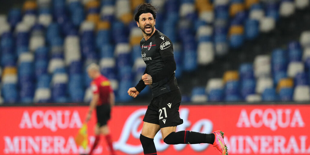 """Bologna, Soriano: """"Voglio rimanere qui e sogno ancora l\'Europeo"""" (Getty Images)"""
