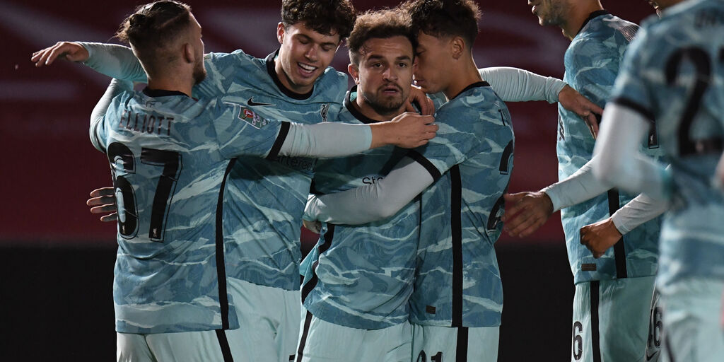 Liverpool, Xherdan Shaqiri positivo al Covid-19 (Getty Images)