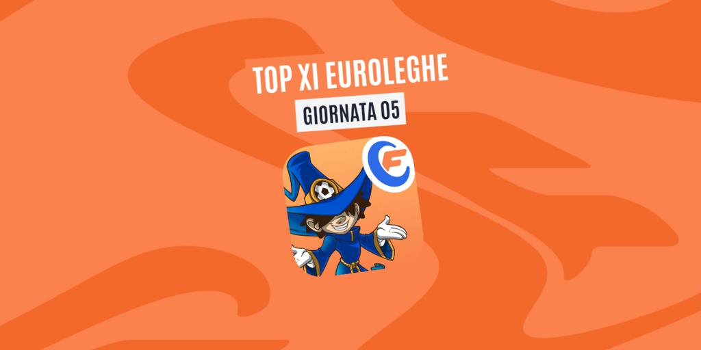 La Top XI Euroleghe - Quinta Giornata (Getty Images)