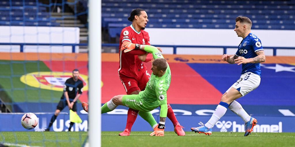 """Liverpool, Van Dijk non si abbatte: """"Penso al recupero, riabilitazione pianificata nei dettagli"""" (Getty Images)"""