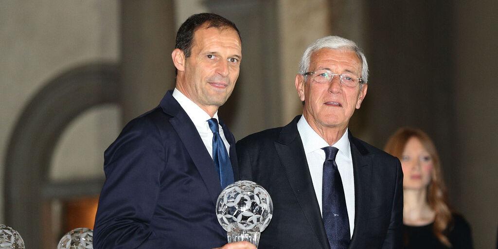 Massimiliano Allegri e Marcello Lippi, entrambi due volte sulla panchina della Juventus (Getty Images)