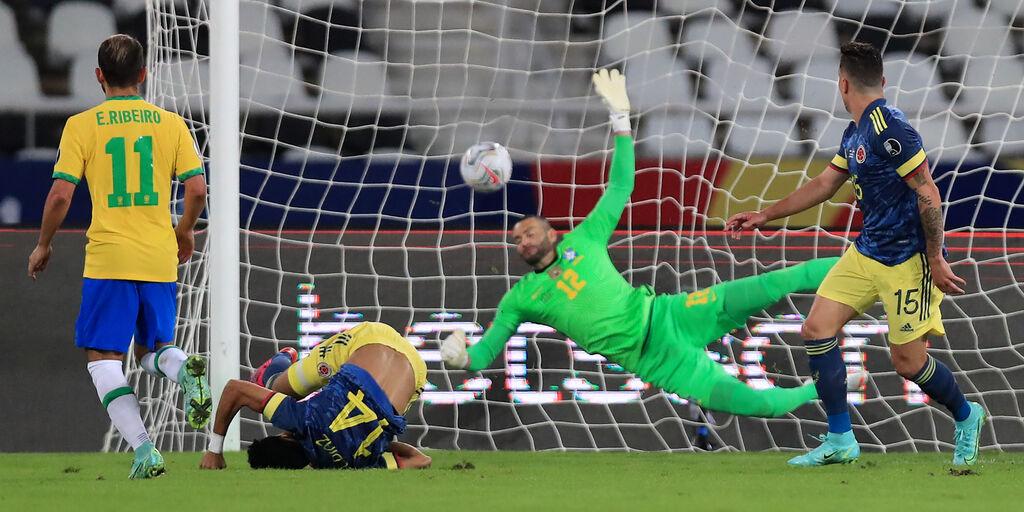 Brasile-Colombia 2-1, gli highlights del match: splendido gol di Diaz - VIDEO (Getty Images)