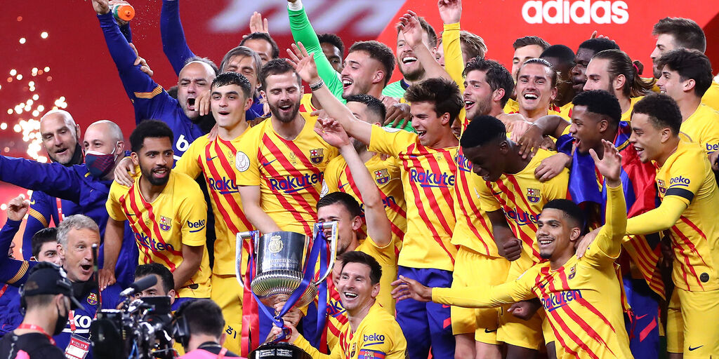Copa del Rey, vince il Barcellona: 4-0 all'Athletic (Getty Images)