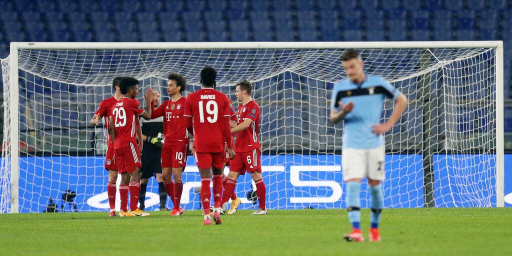 UCL LIVE, Lazio-Bayern Monaco: gol e azioni salienti (Getty Images)