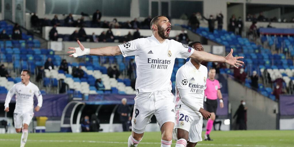Real Madrid-Atalanta 3-1, cronaca e tabellino (Getty Images)