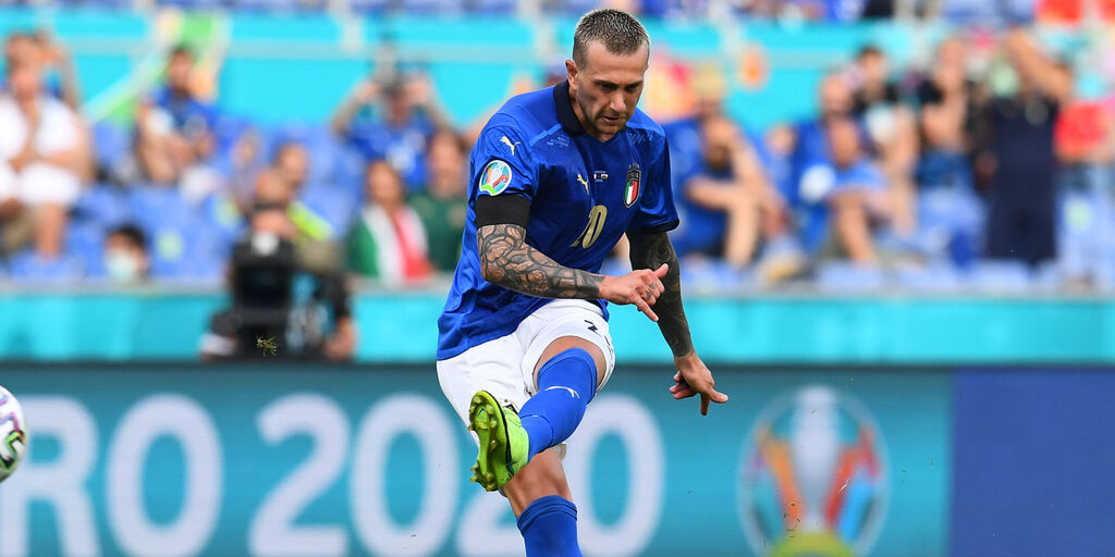 """Italia, Bernardeschi: """"Mancini è un folle, ecco perchè"""" (Getty Images)"""