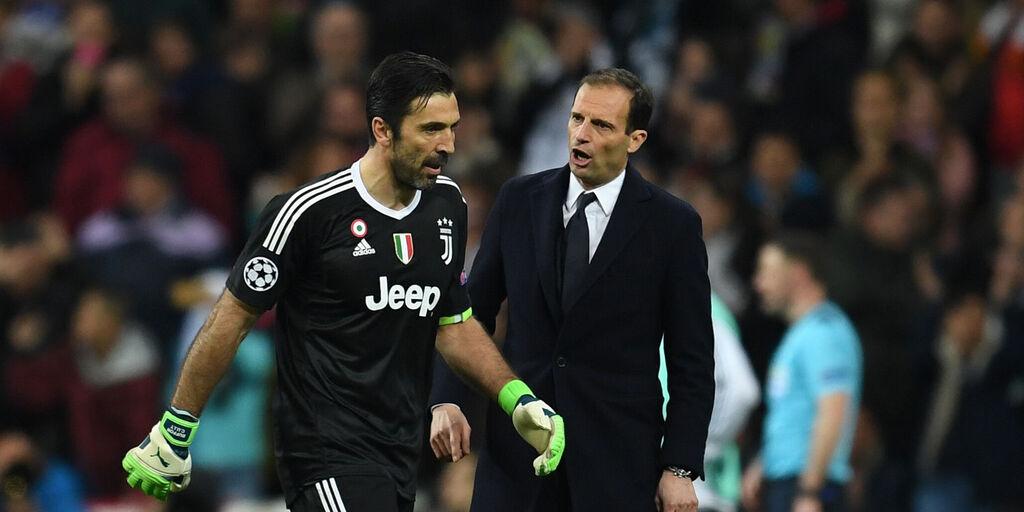"Juventus, senti Buffon: ""Allegri sa cosa serve per risollevarsi"" (Getty Images)"