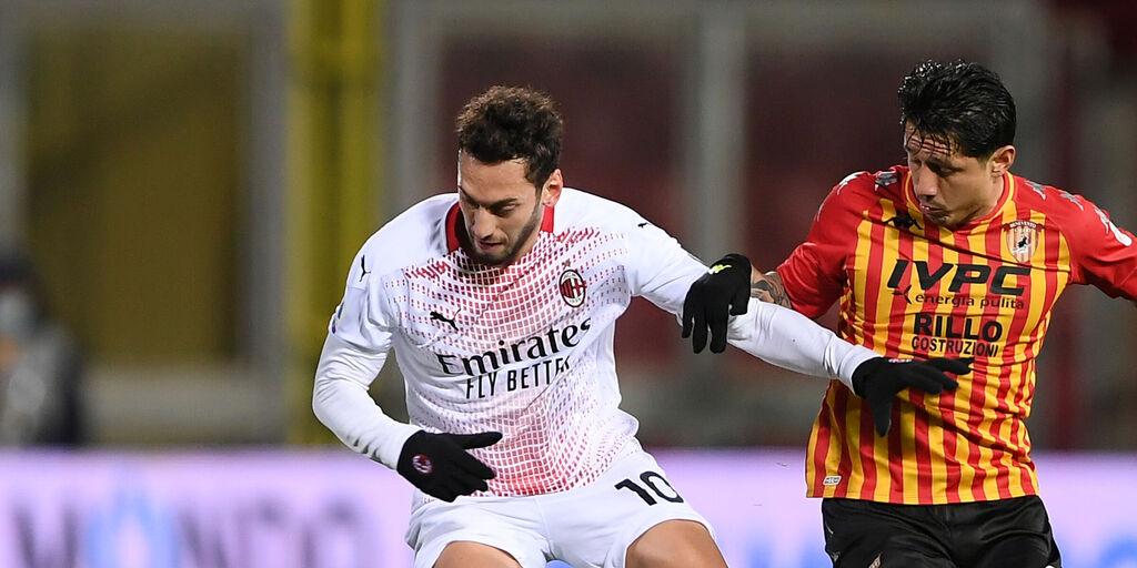 Milan-Benevento: le formazioni ufficiali (Getty Images)