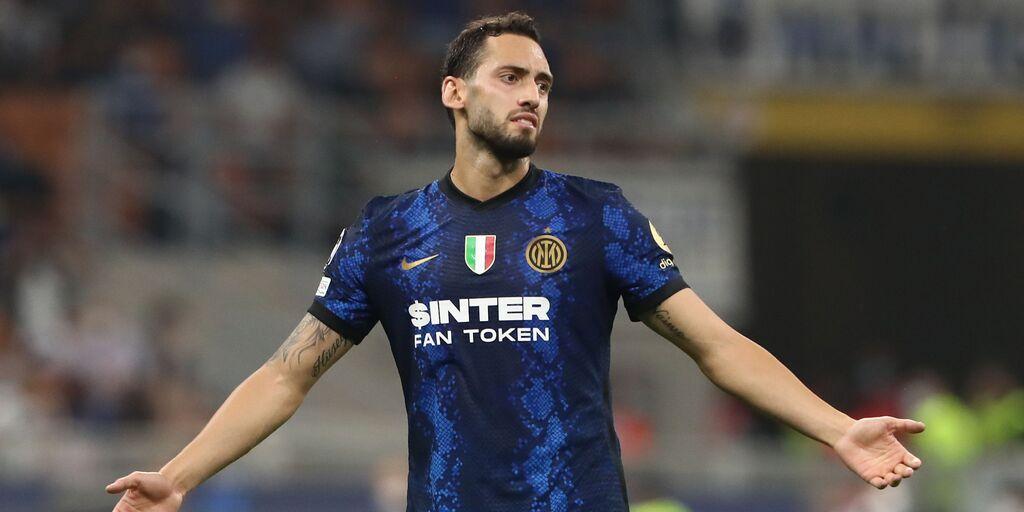 Inter, Calhanoglu non al meglio: il turco oggi ha lavorato a parte (Getty Images)