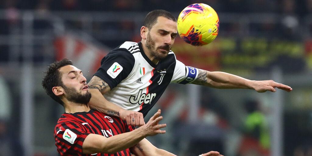Leonardo Bonucc tra i 5 difensori da schierare al Fantacalcio (Getty Images)